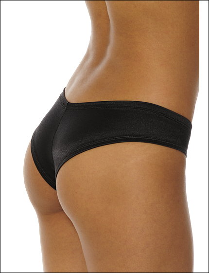 HP100 Black Body Hugging Booty Short.jpg